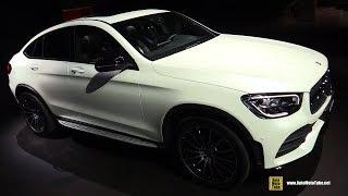 2020 Mercedes GLC 300 Coupe - Exterior and Interior Walkaround - 2019 NY Auto Show