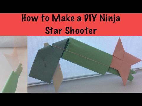How to Make a DIY Ninja Star Shooter