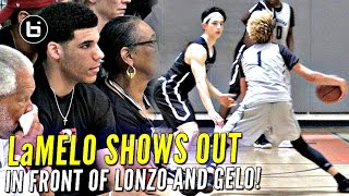 Chino Hills...I mean Big Ballers Drop Nearly 100 Points In Win w/ Lonzo & LiAngelo Watching!