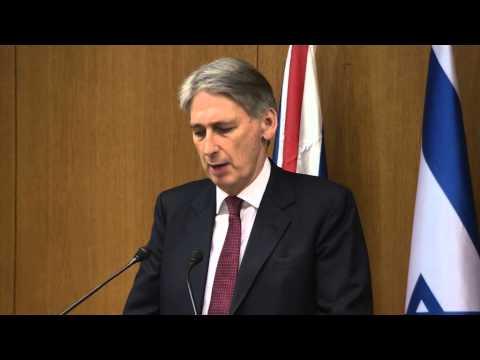 Statements by PM Netanyahu & British FM Hammond