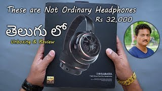 These are not Ordinary Headphones Unboxing & Review in Telugu...