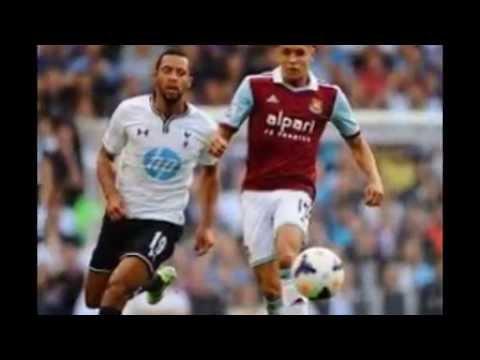 West Ham 0 vs Tottenham 1, Premier league 2014 LIVE  Match