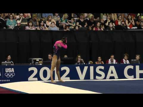 Amanda Jetter - Floor - 2012 Visa Championships - Sr Women - Day 2