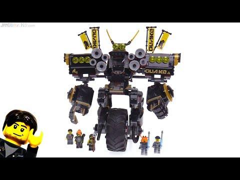 LEGO Ninjago Movie Quake Mech review! 70632