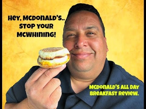 Mcdonald's All Day Breakfast REVIEW!