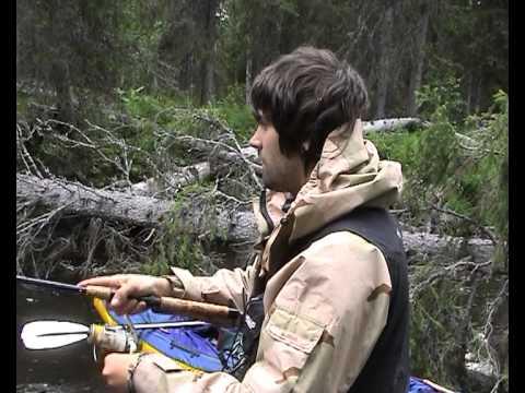 рыбалка со сплавом по таежным дорогам