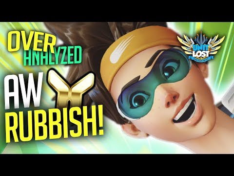 Overwatch Coaching - AW, RUBBISH Tracer! [OverAnalyzed]