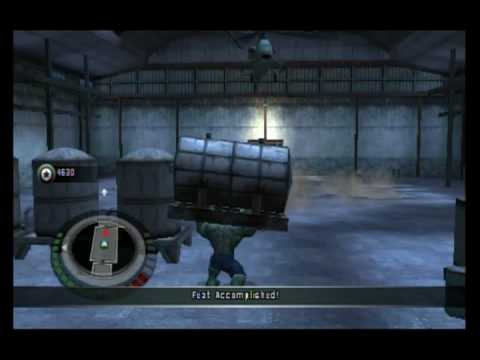 The Incredible Hulk Movie Game Walkthrough Part 1 (Wii)