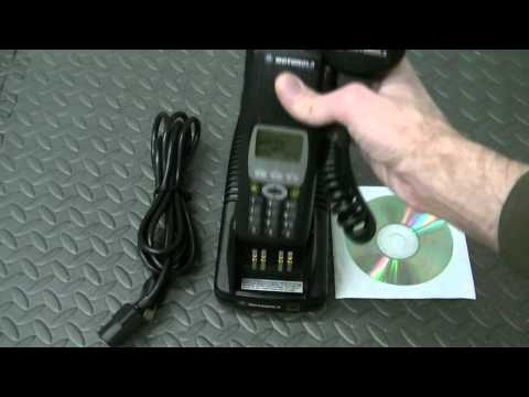 Motorola XTS5000 Walkaround of an 800mhz Model III Two-Way Radio Unit Demo for a Client