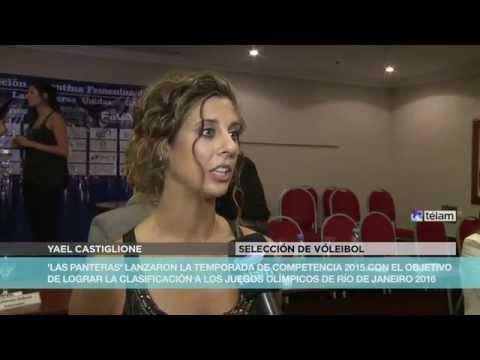 Argentina presentó su selección de vóley femenina (Vídeo)