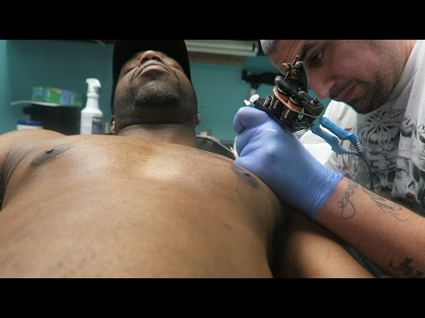 Getting My First Chest Tattoo! Trying To Finesse In The Mall!
