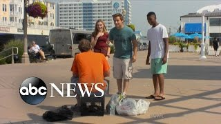 Teens Harass And Humiliate the Homeless   What Would You Do?   WWYD