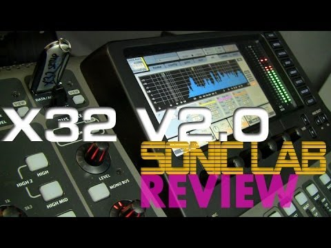 Behringer X32 V2.0 Software Review
