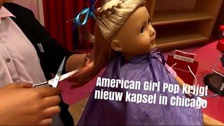 Overdreven of superleuk? American Girl Pop krijgt BODYSCRUB, nagellak en HAIRSTYLING in Chicago!