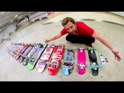 You Must Kickflip Every Skateboard!