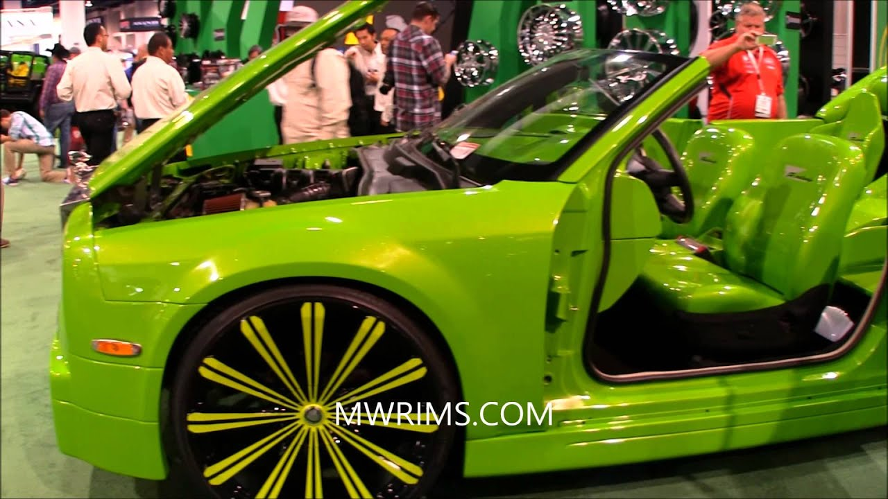 Custom Chrysler 300 Fiberglass Interior Sema Show 2013 Youtube