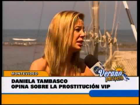 Daniela Tambasco explica el negocio de la  prostitución