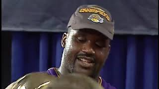 Shaquille O'Neal recalls the first time he faced Michael Jordan