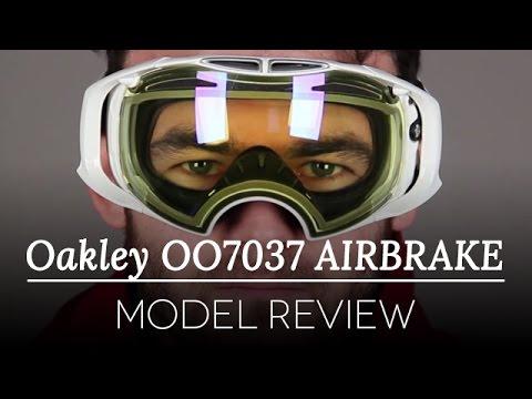 Oakley OO7037 Airbrake Ski Goggles Review   SmartBuyGlasses