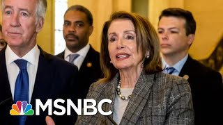 Donald Trump Approval Hits All-Time Low; Nancy Pelosi Uses Different 'I' Word | Morning Joe | MSNBC