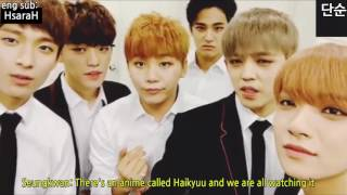 [ENG SUB] Haikyuu otaku SEVENTEEN (original video from ??)