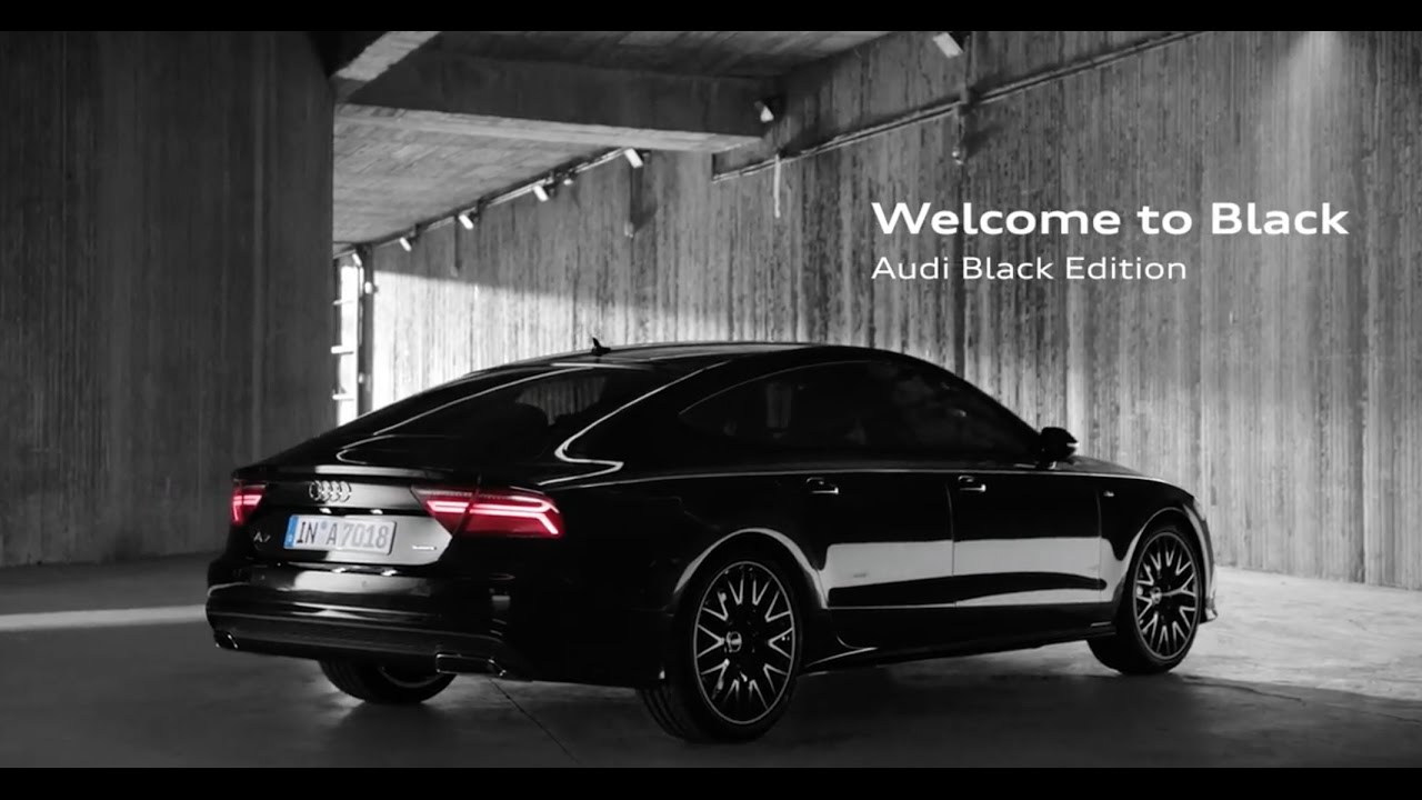 2017 audi a7 sportback black edition youtube
