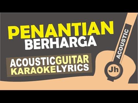 Rizky Febian - Penantian Berharga [ Acoustic Karaoke Instrumental ]