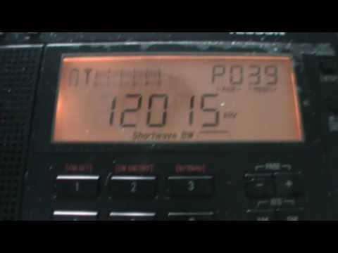 China Radio Intl Vs Voice of Korea 12015 Khz Tecsun PL-680