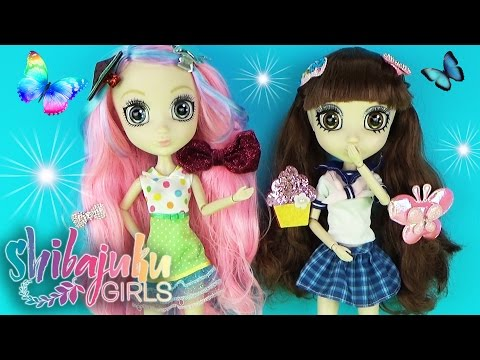 Куклы Шибаджуку девочки Юка и Намика Мультик Школа / Shibajuku Girls S1 Suki and Namika Dolls