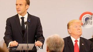 Donald Trump raille la France et Emmanuel Macron