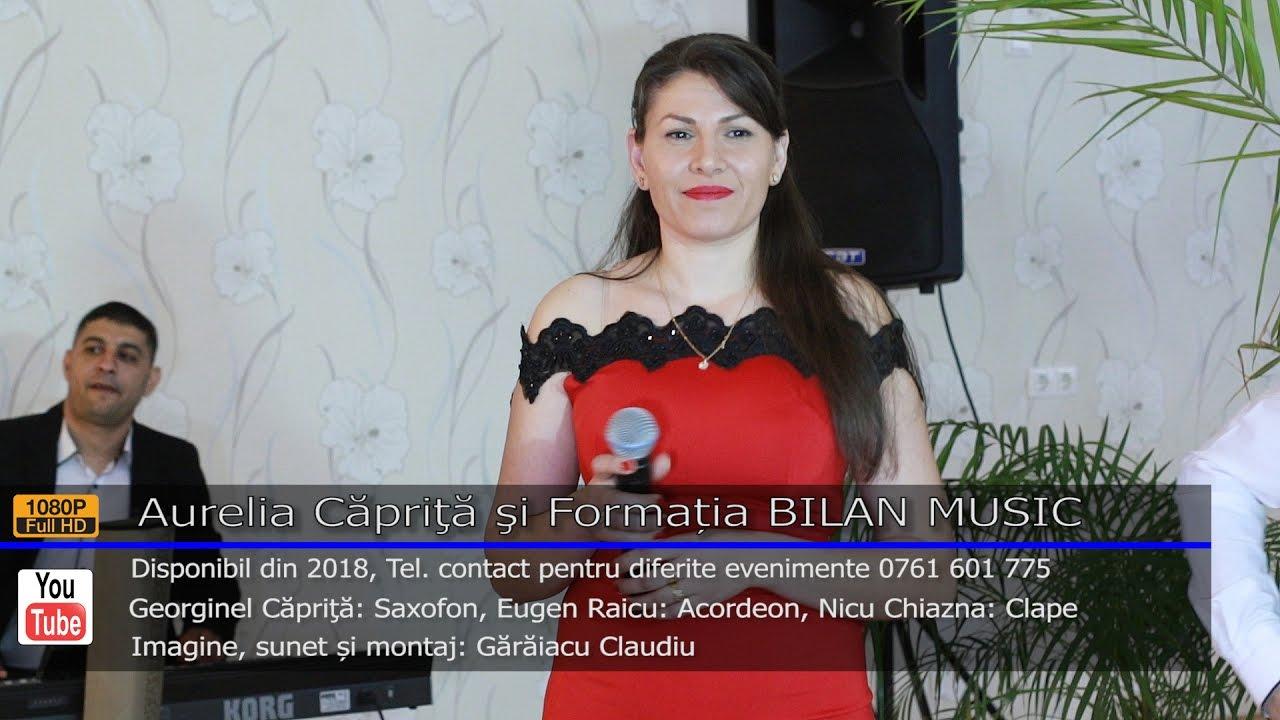 Aurelia Caprita si Formatia BILAN MUSIC   Colaj SARBA LIVE 2017   Contact 0761 601 775