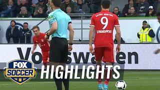 VfL Wolfsburg vs. Bayern Munich | 2016-17 Bundesliga Highlights