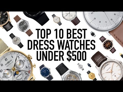 10 Best Everyday Dress Watches Under $500 - Affordable Classy Style That Looks More Expensive