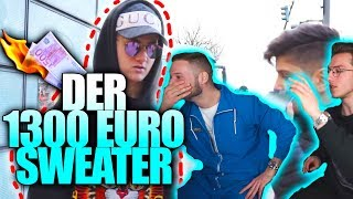 Der 1300 Euro Sweater... | inscope21 Reaktion