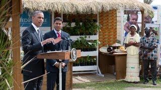 President Obama Speaks on Food Security  6/30/13