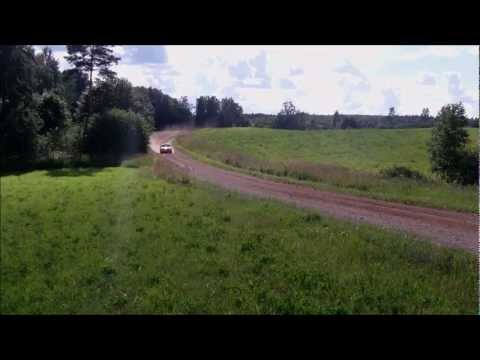 South-Estonia rally 2012. Vissi stage