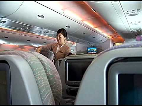 Emirates A380. Dubai-Sydney flight review