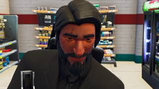 When John Wick Gets Tilted At Tilted Towers #ReplayRoyale
