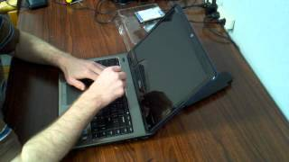Dell: Inspiron 14R-N4010 Hard Drive Replace / Dis-assembly - Part 1
