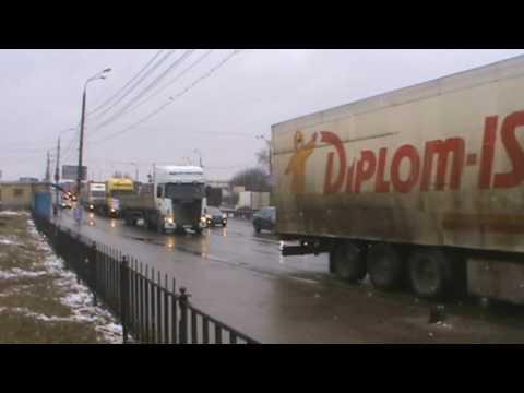 Стачка дальнобойщиков Нижегородской обл., автопробег