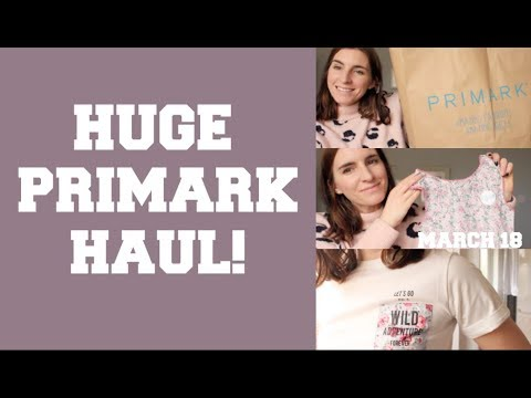 PRIMARK HAUL & TRY ON! / MARCH 18