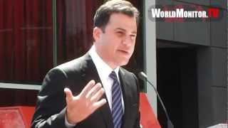 Jimmy Kimmel hilarious speech at Ellen Degeneres Hollywood walk of fame ceremony