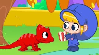 My Red Chameleon | ONE HOUR of Morphle | Animals for Kids | Learning for Kids | Kids Videos