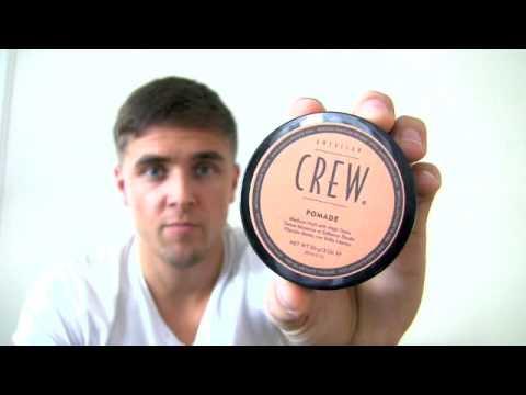 Slikhaar TV 16 American crew pomade - modern mens hairstyle - Hair tutorials