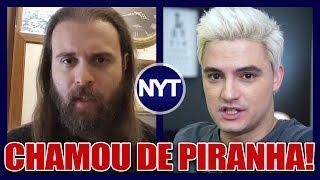 Nando Moura chama namorada do Felipe Neto de PIRANHA após INDIRETAS recebidas do YouTuber