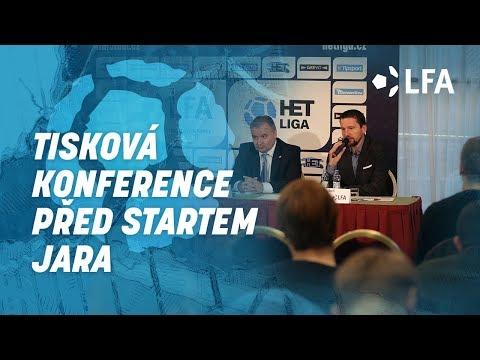 Tisková konference před startem jarní části soutěže