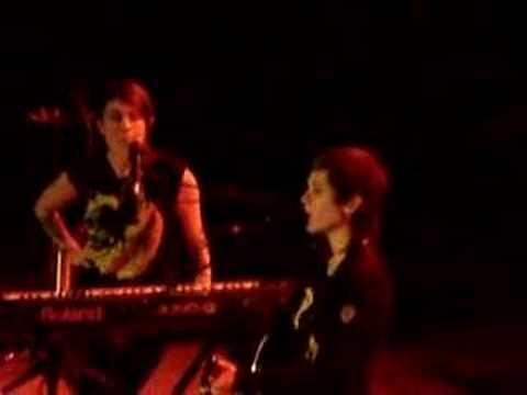 Tegan & Sara at the Orpheum - Tila Tequila banter Video