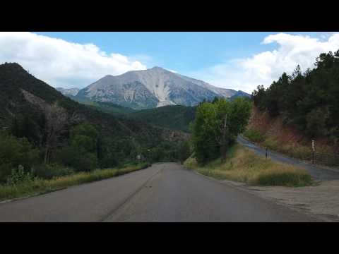 Drive by Mount Sopris, Carbondale, Colorado