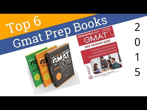6 Best GMAT Prep Books 2015