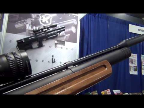 Shot Show 2014 - Airgun Reporter Episode #2 - Kalibr Guns